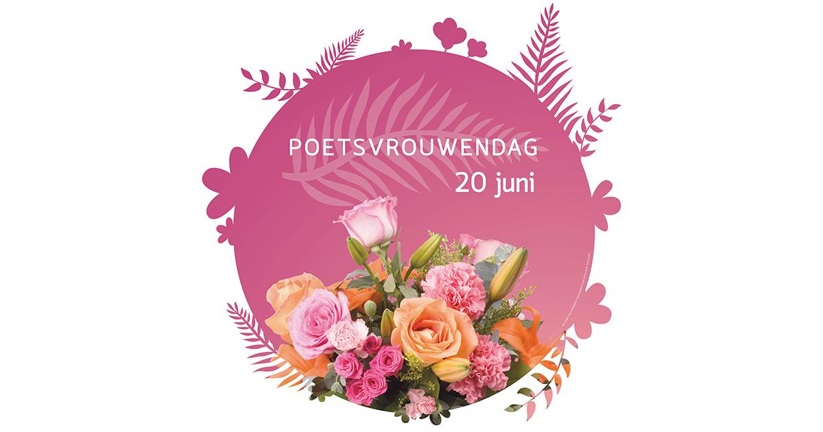 bloemen voor poetsvrouwendag