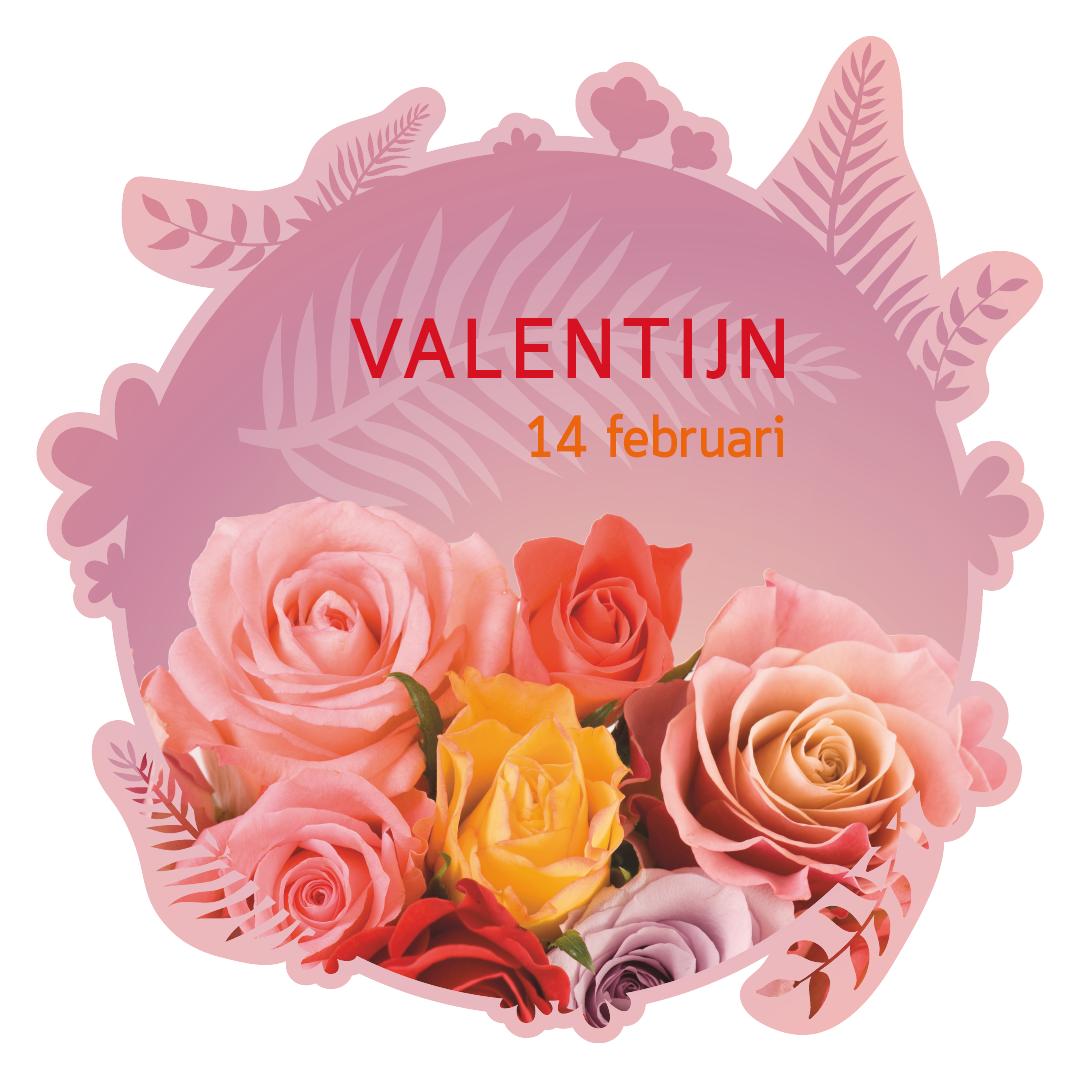valentijn bloemen rozen boeket