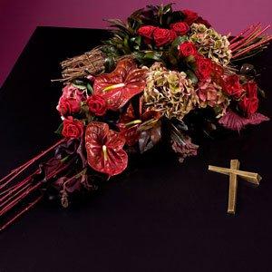 Kist Bloemstuk Begrafenis