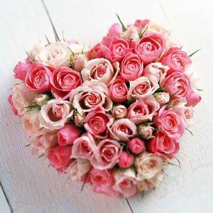 Roze-rozenTrouwfeest