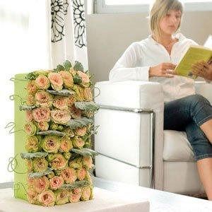 Tafeldecoratie-oud-roze